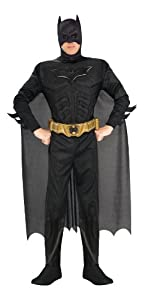 Batman The Dark Knight Rises Adult Batman Costume by Rubies Costumes-Apparel