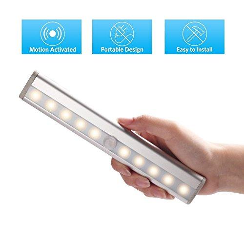 Stoog-aufladbareLED-Nachtlicht-LED-Lichtleiste-mit-Bewegungsmelder-PIR-Sensor-Magnetstreifen-Schranklicht-Nachtlampe-fr-Schrank-Flur-Unter-Kabinett-Bar-Licht-Lampe-Kaltwei-USB-Ladefunktion