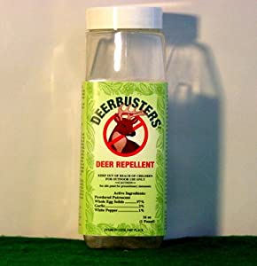 Deer Repellent: Deerbusters Repellent Powder - 16 oz