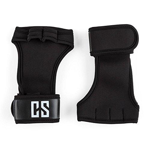 capital-sports-palm-pro-guantes-de-musculacion-talla-l-negro-agarre-seguro-palma-mano-neopreno-resis