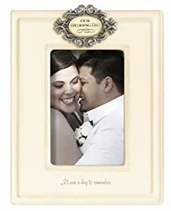 Grasslands Road Mr. and Mrs. Our Wedding Day Picture Frame