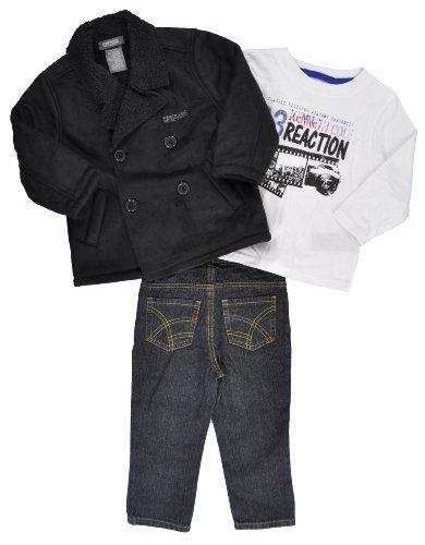 Kenneth Cole Boys 2-7 KC Toddler 45743090 3 Piece Set ,Black ,3T