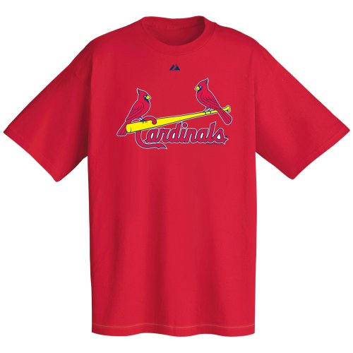 MLB St. Louis Cardinals Wordmark T-Shirt Red, XX-Large at Amazon.com