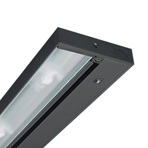 Juno Lighting UPF34-BL Pro-Series Fluorescent Under cabinet Fixture, 34-Inch, 6-Lamp (Black)