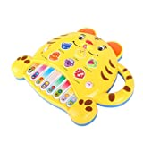 Generic Funny Popular Baby Kid Tiger Shape Piano Music Developmental Toy Great Gift