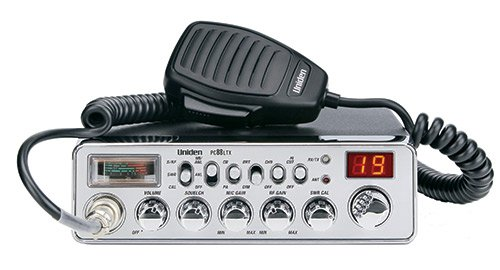 Uniden PC88LTX 40 Channel Trucker's CB Analog S/RF/SWR/Mod Meter, Instant Channel 9, Hi-Cut Function, AM/PA, 40 Channel, Mobile CB Radios