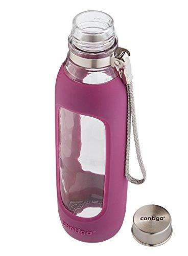Contigo康迪克  590ml 玻璃运动水壶 图片