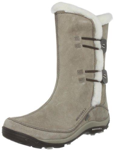 MERRELL Ladies Yarra Walking Boots, Grey, US9
