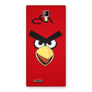 Enticing Red Yelo Peak Back Case Cover for Micromax Canvas Xpress A99
