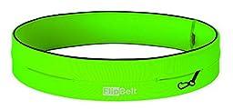 Level Terrain FlipBelt Waist Pouch, Neon Green, Small/26\