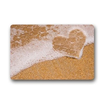 Dearhouse decorative beach theme door mats cover non slip for Decorative door mats indoor