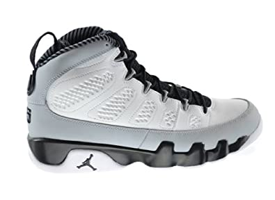 Buy Air Jordan 9 Retro Birmingham Barons Mens Basketball Shoes White Black-Wolf Grey... by Jordan