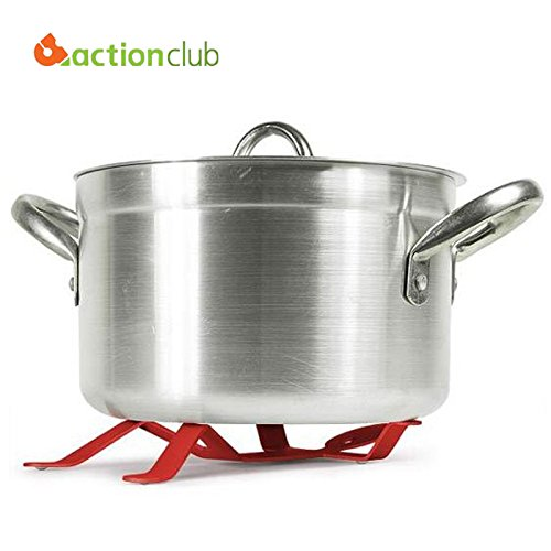 smartzyn (TM) Strumenti di cottura cucina cucina Pad Presina a forma di Humen vendita calda Pan Pot supporto ferro Presina HK100