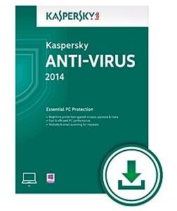 Kaspersky Anti-Virus 2014 - 3 Users - 1 Year