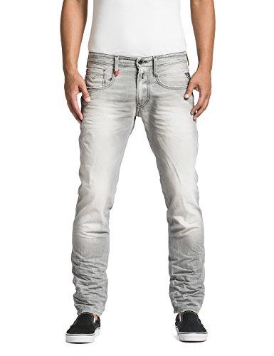 Replay Herren Slim Jeans Anbass, Gr. W30/L34 (Herstellergröße: 30), Grau (Grey Denim 10) thumbnail
