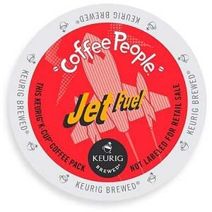 Coffee People Jet Fuel 120 Count Keurig K-Cups (Fuel Coffee compare prices)