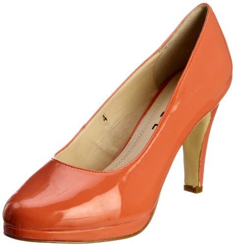 Ravel Women's Jett Coral Patent Platforms Heels