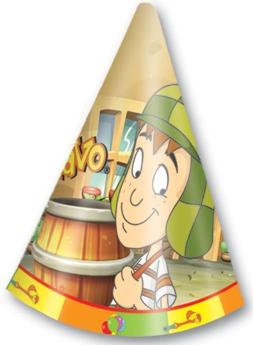 El Chavo Del Ocho Party Hats - Gorritos
