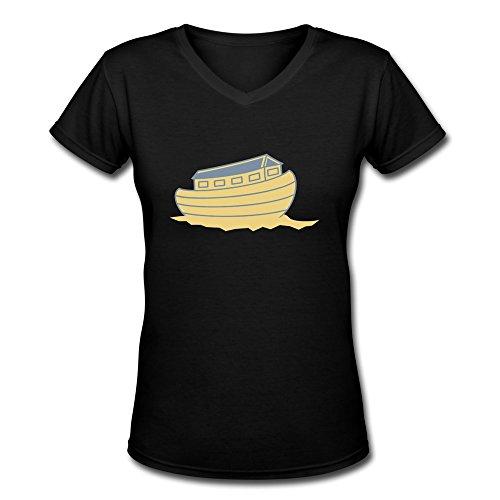 Huash Cool Women'S Ship T Shirts Size Xxl Black