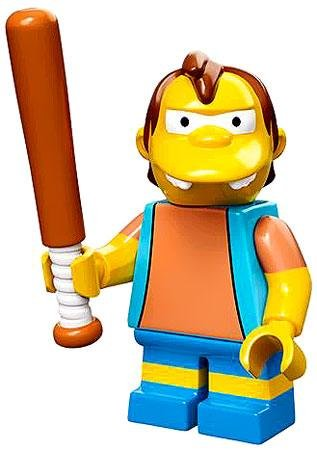Lego 71005 The Simpson Series Nelson Muntz Simpson Character Minifigures - 1