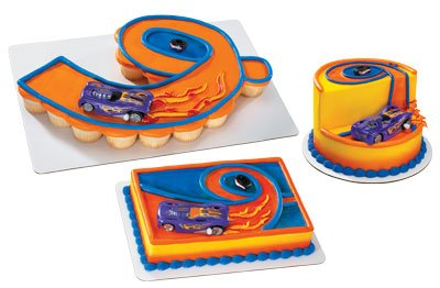 Buy Hot Wheels Spin Out Cake Topper