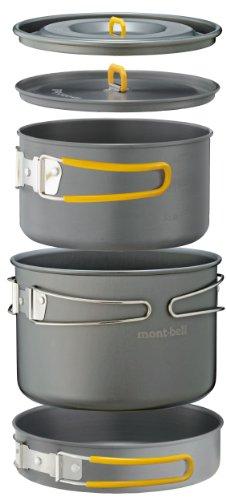 モンベル(mont-bell) アルパインクッカー 16+18パンセット 1124567
