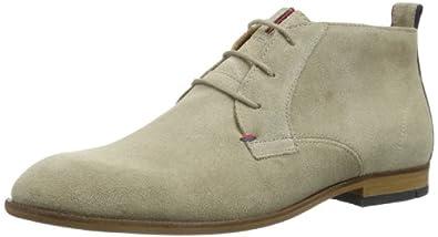 Tommy Hilfiger COLTON 6B FM56816902, Herren Desert Boots, Beige (COBBLESTONE 007), EU 48