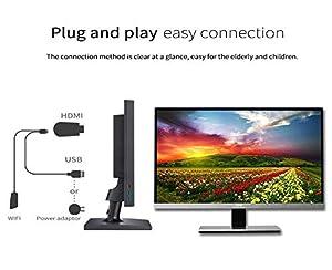 Mirascreen Wireless Display Adapter, SmartSee WiFi HDMI
