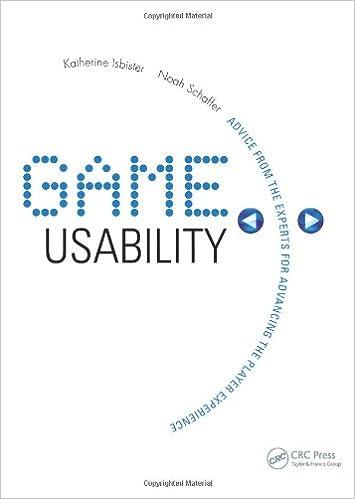 Game Usability : Advancing the Player Experience price comparison at Flipkart, Amazon, Crossword, Uread, Bookadda, Landmark, Homeshop18