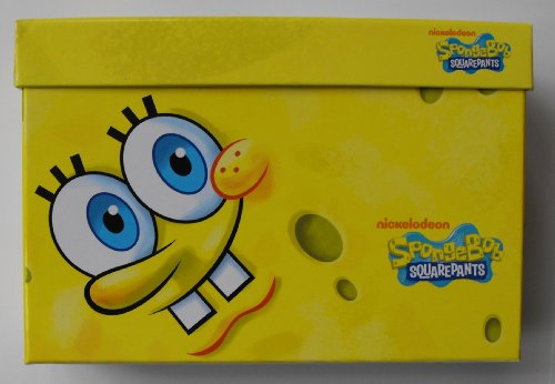 Nickelodeon SpongeBob Squarepants 500 Count Stickers in Decorative Box - 1