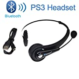 Bluetooth PS3 Gaming Headset Headphone Earphone Wireless for Sony PS3 PlayStation 3