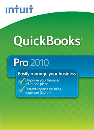 QuickBooks Pro 2010   [Download] [OLD VERSION]