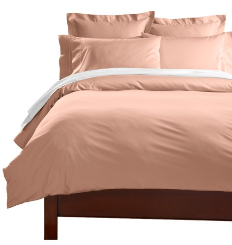 Cuddledown 400 Thread Count Comforter Cover, Over Size King, Teaberry front-894638
