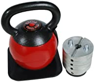 Stamina 36-Pound Adjustable Kettle Ve…