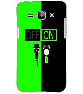 PrintDhaba Funny Image D-4017 Back Case Cover for SAMSUNG GALAXY J1 (Multi-Coloured)