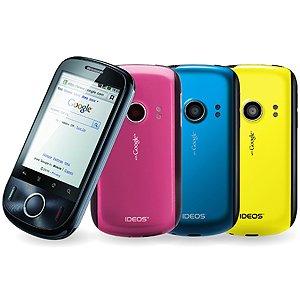 日本通信 IDEOS スマートフォーン 10 日間の定額データ通信付き BM-SWU300