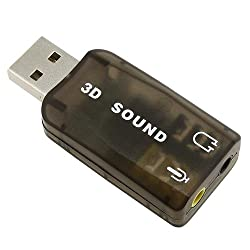 eForCity USB Sound Card Adapter for Skype / Internet phones / Chat programs / MSN / Yahoo / ICQ / AIM and more