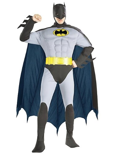 Muscle Chest the Batman Adult Costume
