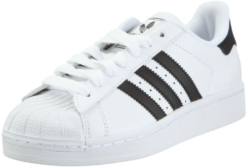 adidas Originals SUPERSTAR II G17068, Unisex-Erwachsene Sneaker, Weiß (WHITE / BLACK / WHITE), EU 36 2/3 (UK 4) (US 4.5)