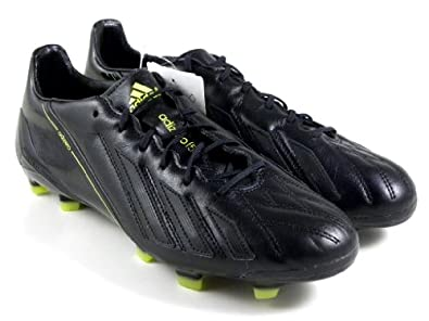 Buy Adidas Adizero F50 TRX FG Black Leather Soccer Cleats Men Shoes g96921 by adidas