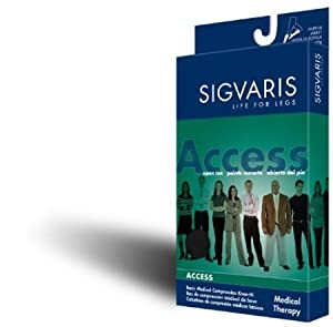 Sigvaris Access 970 Ladies Knee High Compression Stockings 20-30 mmHg - Small Short -... by Sigvaris