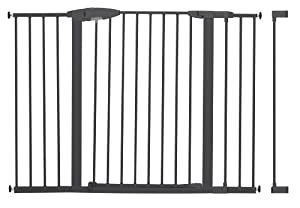 Munchkin Easy Close Tall and Wide Metal Safety Gate with 4 Extensions