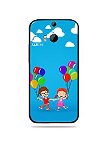 alDivo Premium Quality Printed Mobile Back Cover For HTC One M8 / HTC One M8 Back Case Cover (MKD309)