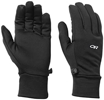 Outdoor Research Men's PL 100 Gloves, Black, X-Large