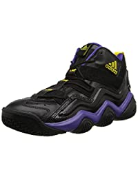 Adidas Mens Basketball Shoes Size 10 M G56095 Top Ten 2000 Black Synthetic