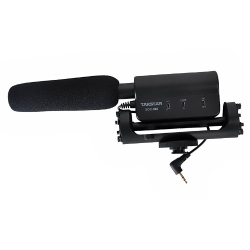 TAKSTAR SGC-598 Interview Microphone for Nikon/Canon Camera/DV Camcorder