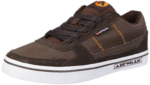 Airwalk Boys TIME PU Low Top Brown Braun (Brown) Size: 2.5 (35 EU)