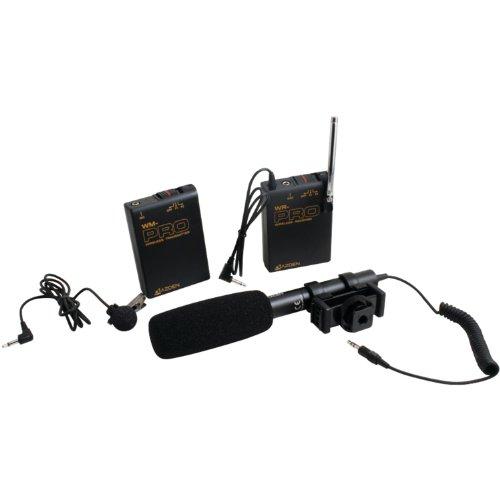 Azden Whd-Pro Wireless/Shotgun Microphone Audio Kit For Dslr (Black)
