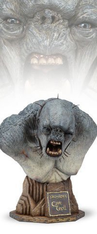Picture of Sideshow Cave Troll Legendary Bust from Lord of the Rings Figure (B000MPN33E) (Sideshow Action Figures)