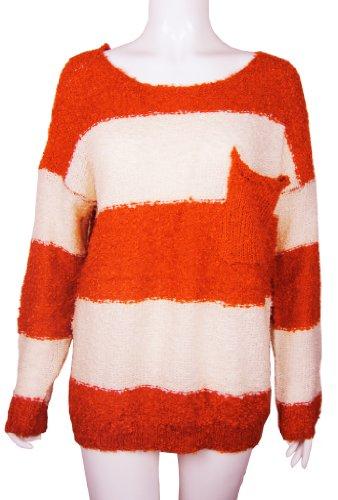 New Ladies Knitwear Fine Knitted Jumper Longsleeve